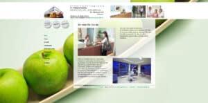 Screenshot der Startseite von der Website https://grutzka-kah.de