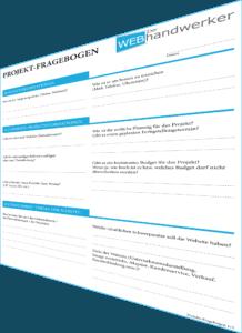 Fragebogen von Der Webhandwerker