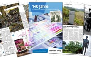 Printreferenz 140 Jahre Westerwälder Zeitung