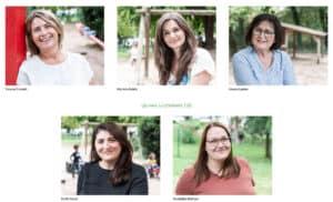 Screenshot der Unterseite Casa Vivida (Team) von der Website kigazweckverband.de